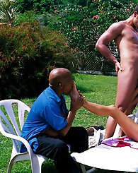 Janet Alfano in Sin Island enjoying group sex horny as hell