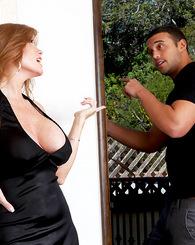Darla seduces her handy man