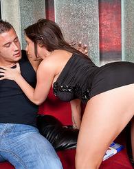Smokin hot babe seduced a married man